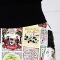 Olive Skirt Cotton Skirt Pocket Skirt Summer Skirt