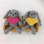 Crocheted Bunny Softies |  Amigurumi | Gift Idea | Hand Crochet | Ready to Post