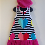 Girls Size 6 Beach Towel Dress
