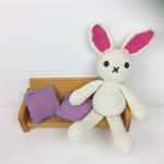 Crocheted Bunny Softie |  Amigurumi | Gift Idea | Hand Crochet | Ready to Post