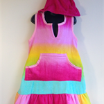 Girls Size 8 Beach Towel Dress