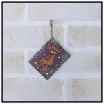 ART TAGS GIFT TAGS HAND PAINTED CAT