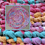 Rag Rug 1.10m diameter