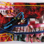 Patch work pouch