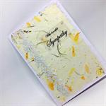 Sympathy Card - With Heartfelt Sympathy