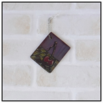 ART TAGS GIFT TAGS HAND PAINTED CHERRY