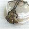 Steampunk Beetle Pendant on Bronze Chain