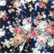 BABY GIRLS CLOTHING, navy floral set, size 3 6 12 18 months outfit