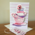 Get Well or Sympathy Card including matching gift tag
