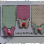 Handmade Card. (Happy Birthday)