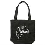 TOTES ORGANIC Tote Bag in Black
