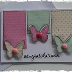 Handmade Card. (Congratulations)