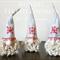 Nordic Design Handmade Felted Gnome | Tonttu | Tomte | Scandinavian Gnome | Elf