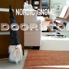 Large Nordic Gnome  - Nordic Tonttu Handmade Gnome   Tomte   Scandinavia