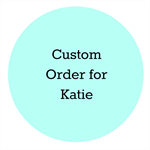 Custom Order for Katie -  Unicorn Crown and tail