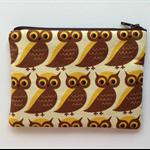 Owl Print Purse