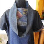 Japanese influenced tunic