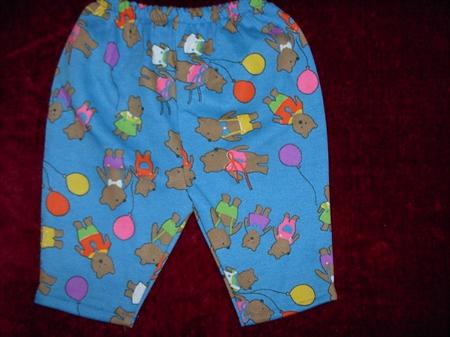 Unisex Children's Party Time Flannel Pyjamas