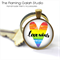 Gay Pride Love Wins  Pendant or Key Ring.  Available in Silver or Bronze