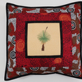 Australiana cushion cover -' Amicitia'