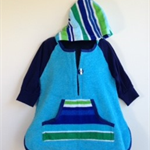 Size 2/3 - Boys Beach Towel L/S Shirt/Pool Cover up
