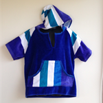 Size 6 Boys Beach Towel Shirt/Pool Cover up