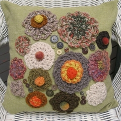 CUSHION COVER 'Forest floor'