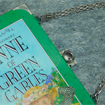 Anne of Green Gables - L. M. Montgomery - Bag made from a book - bag for a girl