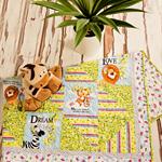 BABY BLESSINGS handmade quilt