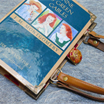 Anne of Green Gables book bag - L.M. Montgomery - Bag made from a book