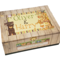 Woodland Animals Time Capsule Keepsake Trinket Treasure Memory Wooden Box