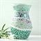 Beach Inspired  Mosaic Vase  gift boxed