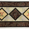 Australiana table runner - 'On Walkabout' -wine