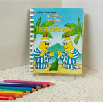 Story Book Journal, Character Diary, Child Art Book, Guest Book, Visual Notebook