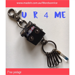 U R 4 ME keyring- with dice