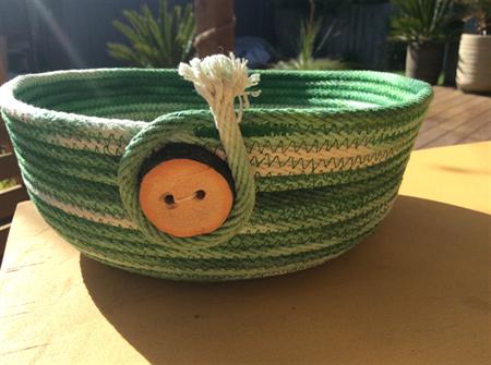Large tie dye basket