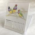 2018 Desk Calendar Australian wildlife threatened species - animals birds