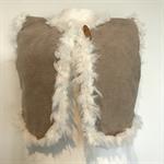 Little girls woolly jacket 💛 Size 1-2