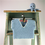 Knitted T-Shirt | Crocheted Octopus | 0 - 3 Months | Gift Set | Ready to Post