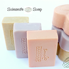 Soleseife or Brine-water w/ Oat's Milk and Himalayan Pink Salt (Soap pack))