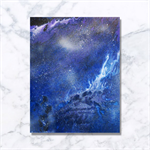 Nebula Contemporary Artwork - Acrylic Painting- Fathers Day Gift