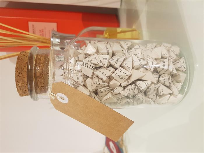 Medium Jar Of Harry Potter Origami Crane Eggs Origamijars Madeit