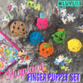 Shopkins Finger Puppet Set