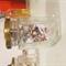 Small Jar of Garfield Comic Origami Cranes