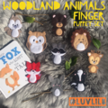Woodland Animals Finger Puppet Set (9 to choose from!)