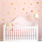 Confetti Star Wall Decal Sticker - 3 Size Star | PP109