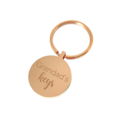 Daddy's Keys - Engraved personalised keyring Fathers Day gift