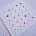 Rainbow Squares Baby Blanket