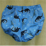 Dinosaur Baby Bloomers Pants Nappy Cover ☆ Size 5 -10 months ☆ Handmade