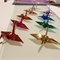 Wedding Decoration Origami 1,000 Metallic Cranes